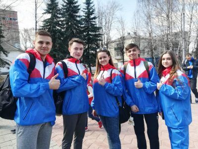 EVITA приняла участие в 44 легкоатлетической эстафете