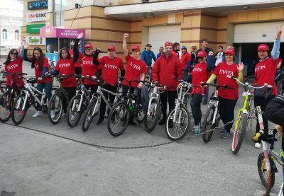 """Как команда """"Эвита"""" приняла участие в """"Другом велопробеге"""