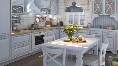Кухня в классическом стиле - образец дорогого и безупречного домашнего интерьера!